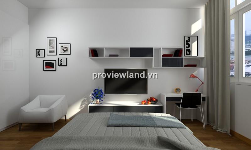 Cho thuê căn hộ The Vista tháp T5 107sqm 2PN đầy đủ nội thất ban công view hồ bơi