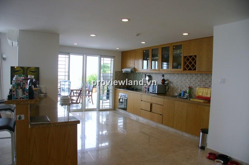 Bán căn hộ Penthouse River Garden 364m2 3PN có ban công sân vườn view sông