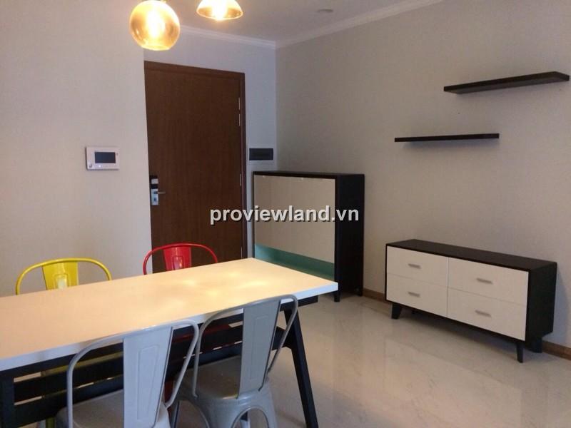 Cho thuê căn hộ Vinhomes Tân Cảng 90m2 tòa Central 2PN đầy đủ nội thất view đẹp