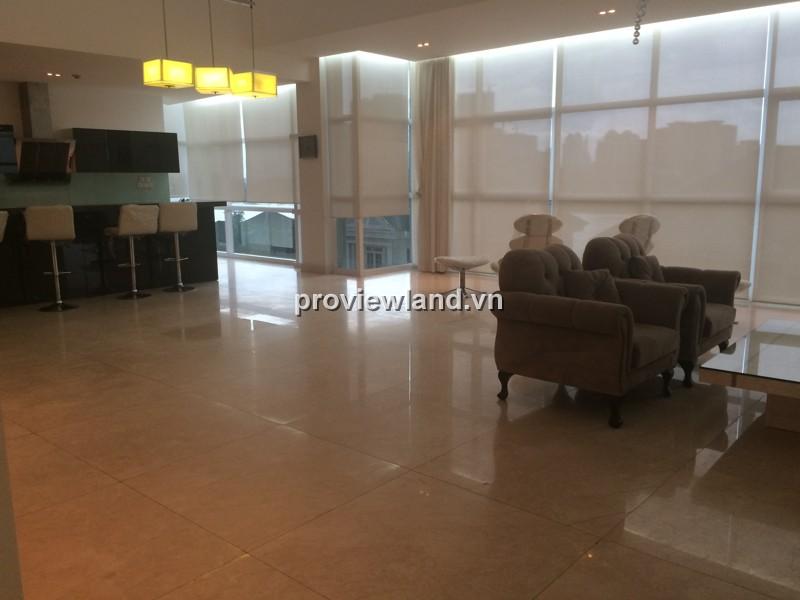 Cho thuê căn hộ Penthouse An Phú Riverview 250m2 4PN đầy đủ nội thất view sông