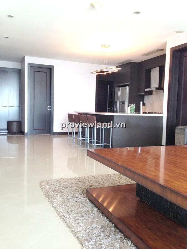 Cho thuê căn hộ The Manor HCM 118m2 2PN tầng cao view đẹp full nội thất