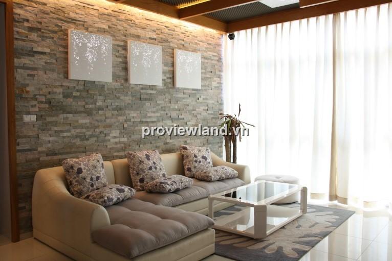 Cho thuê căn hộ The Vista An Phú 124m2 tầng cao 3PN đầy đủ tiện nghi và nội thất