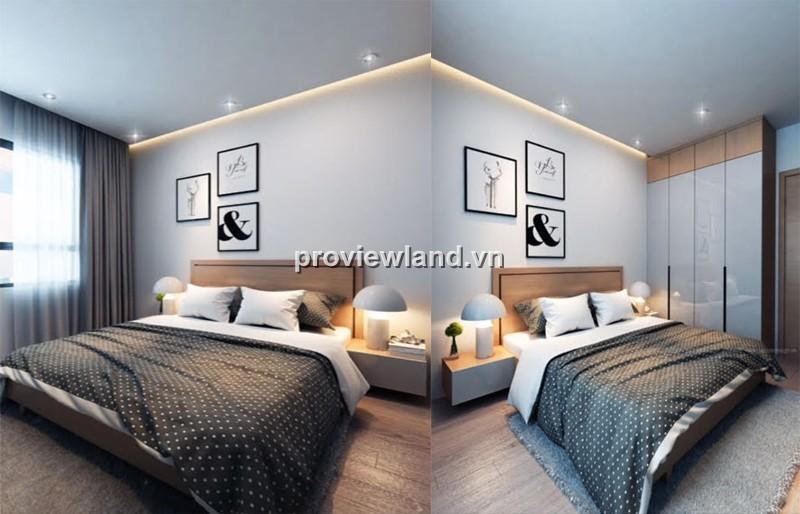 Cho thuê căn hộ Tropic Garden tháp A 97m2 2PN có ban công phòng khách full nội thất