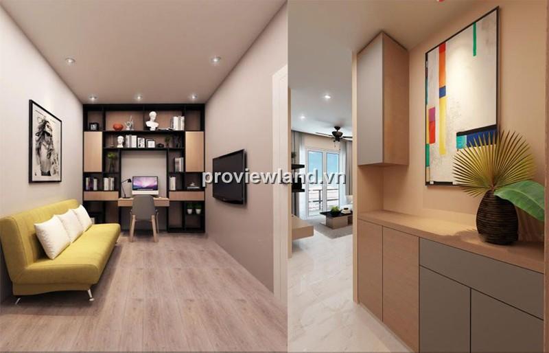 Cần bán căn hộ The Estella tầng cao 124m2 full nội thất với 2PN view đẹp và thoáng