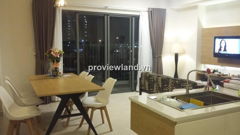 Căn hộ Masteri Thảo Điền cho thuê lầu thấp 73m2 2PN đầy đủ tiện nghi ban công view đẹp