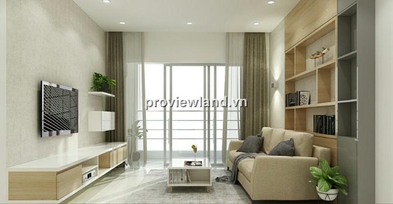 Căn hộ Tropic Garden cho thuê tháp A lầu cao 82m2 2PN nội thất cao cấp hiện đại