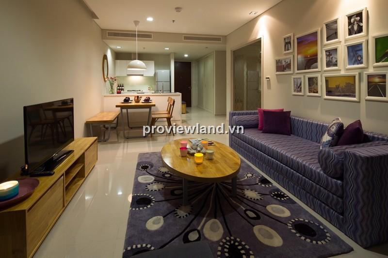 Bán căn hộ City Garden quận Bình Thạnh tầng cao 70m2 1PN nội thất cao cấp