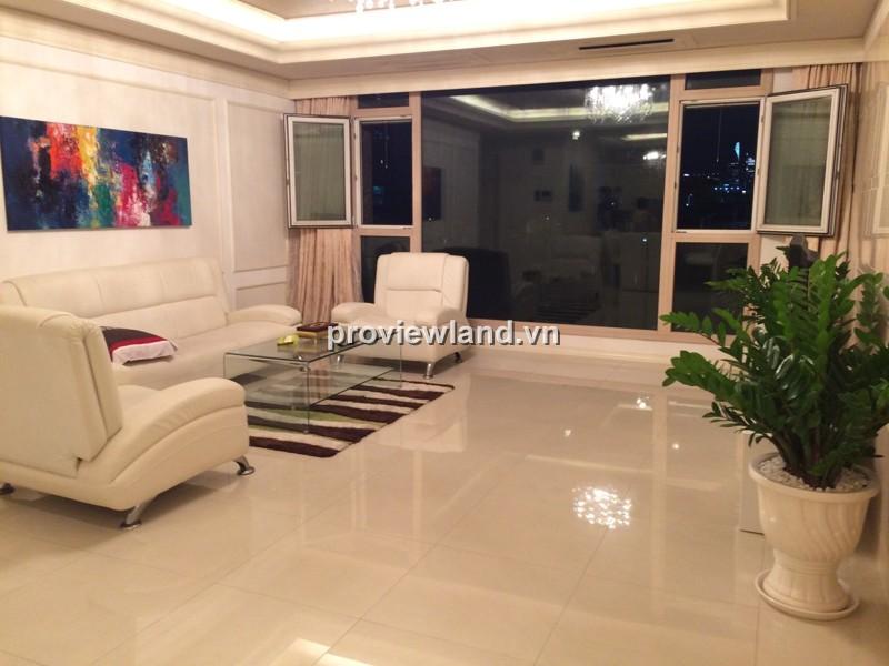 Cho thuê căn hộ Cantavil Hoàn Cầu lầu thấp 158m2 3PN view khu Văn Thánh
