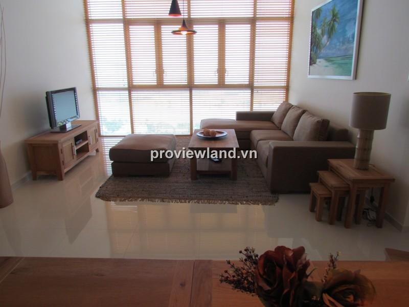 Căn hộ The Vista cho thuê lầu cao 3PN 140m2 đầy đủ nội thất view sông trực diện