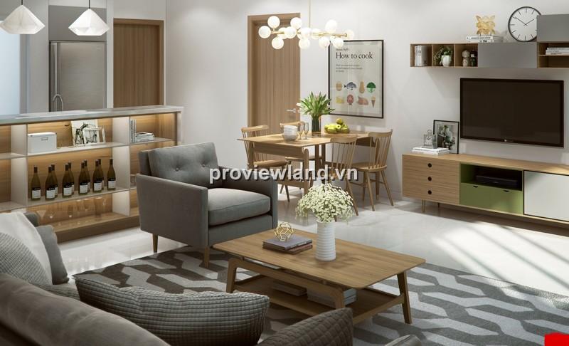 Cho thuê Masteri Thảo Điền 2 PN đầy đủ nội thất có không gian làm việc thoải mái