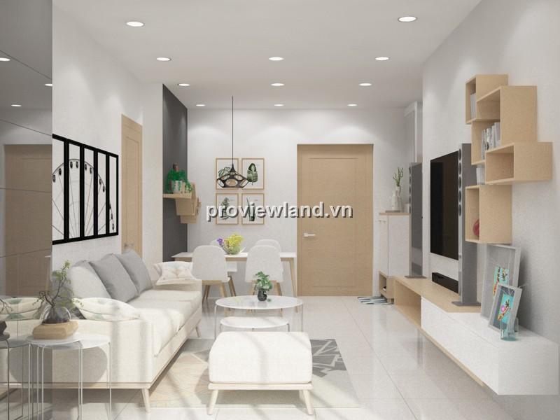 Cần bán căn hộ Masteri Thảo Điền tầng cao 66m2 2PN lầu cao view sông