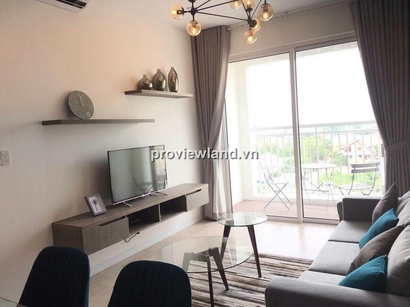 Cho thuê căn hộ Tropic Garden tháp A1 88m2 lầu thấp 2PN đầy đủ nội thất có ban công