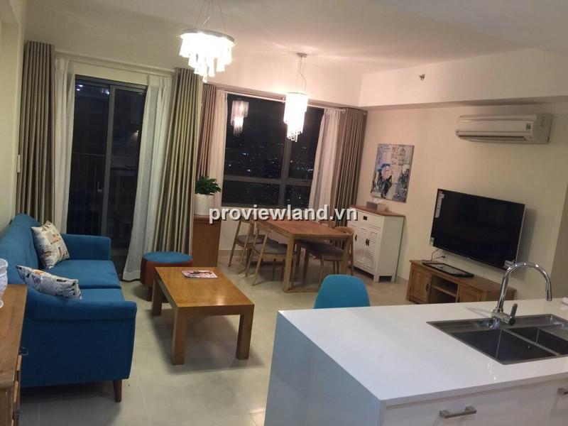 Cho thuê căn hộ Masteri quận 2 70m2 tầng cao 2PN nội thất tiện nghi view quận 1