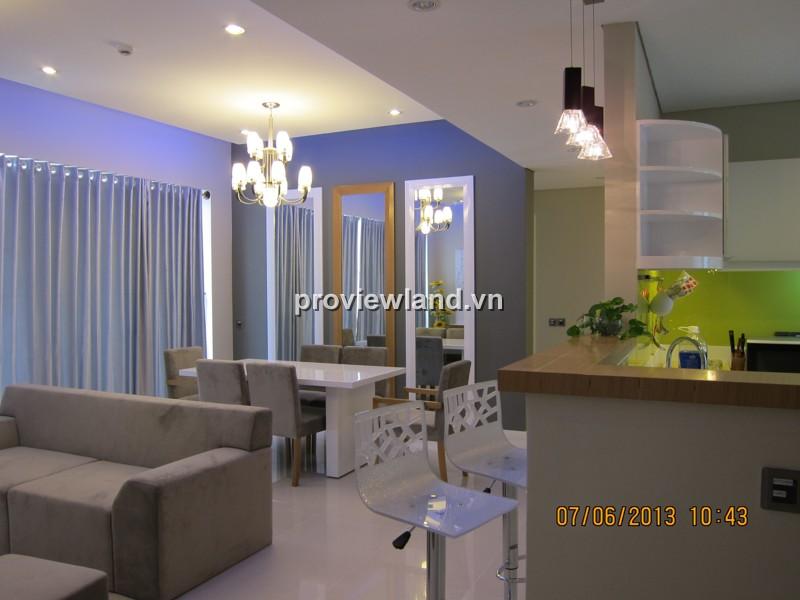 Căn hộ Estella cho thuê lầu cao 124m2 2PN thiết kế sang trọng nội thất cao cấp