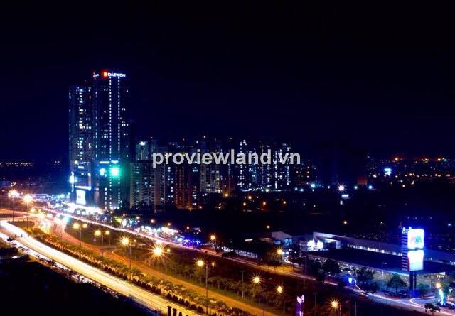 Căn hộ chung cư Masteri Thảo Điền tháp T1 cho thuê lầu cao 69m2 2PN view đẹp