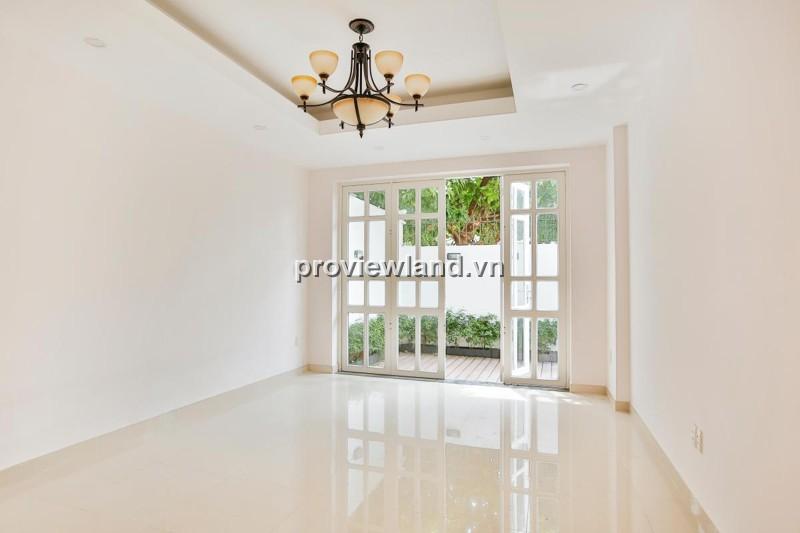 Biệt thự quận 2 cần bán đường Lương Định Của 378m2 1 trệt 2 lầu có sân vườn