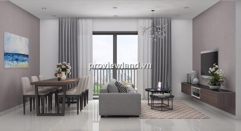 Căn hộ Masteri Thảo Điền cần cho thuê 91m2 tháp T1 lầu cao 3PN nội thất cao cấp