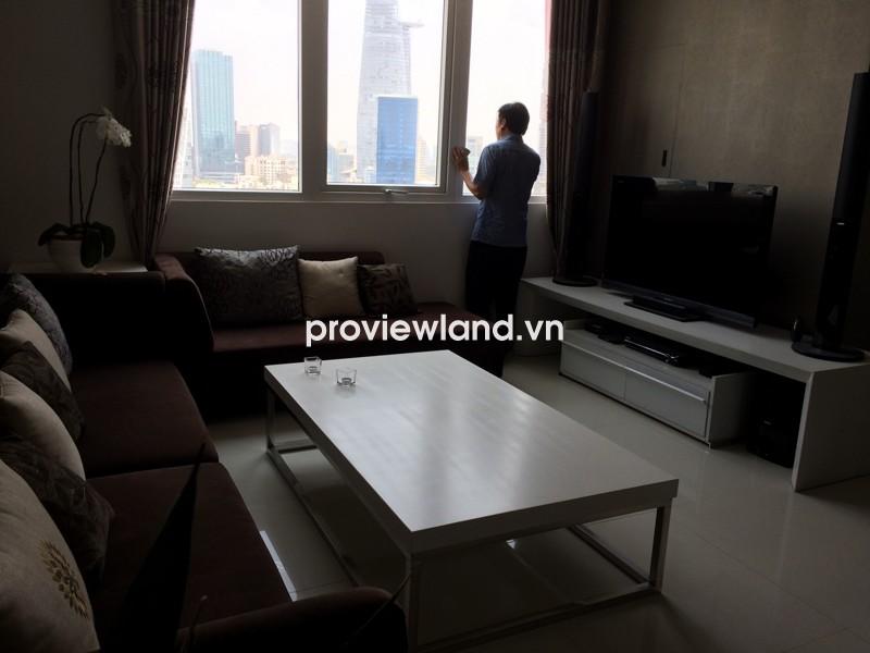 Bán căn hộ The One Sài Gòn tầng cao 117m2 2 phòng ngủ nội thất tiện nghi cao cấp