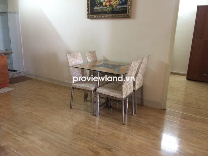Cho thuê căn hộ chung cư đường CMT8 gồm 2 phòng ngủ gần công viên Lê Thị Riêng