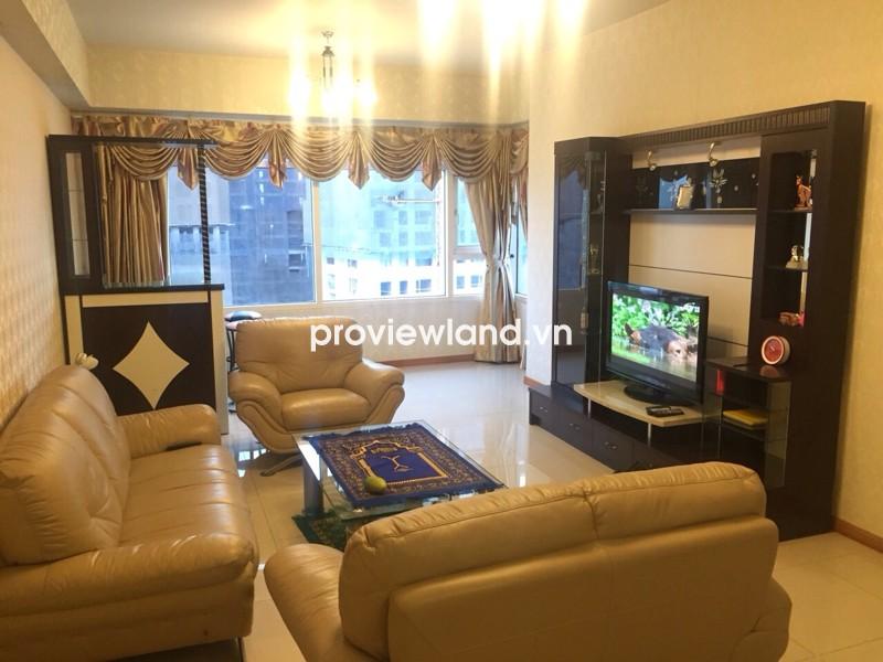 Cho thuê căn hộ Saigon Pearl giá rẻ tòa Ruby 2 134m2 3 phòng ngủ view sông