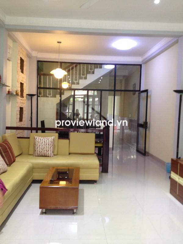Nhà cho thuê ở quận Bình Thạnh đường Nguyễn Cửu Vân 120m2 3 lầu hẻm xe hơi