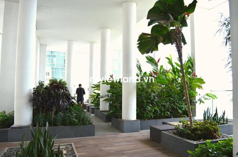 Căn hộ The Vista An Phú quận 2 tháp T1 2PN có sân vườn thoáng cần cho thuê
