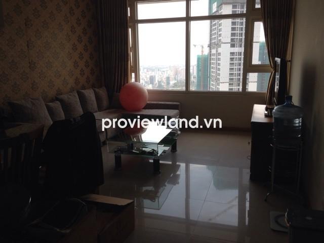 Cho thuê căn Saigon Pearl tòa Topaz 2 86m2 tầng cao 2 phòng ngủ có bếp tiện nghi