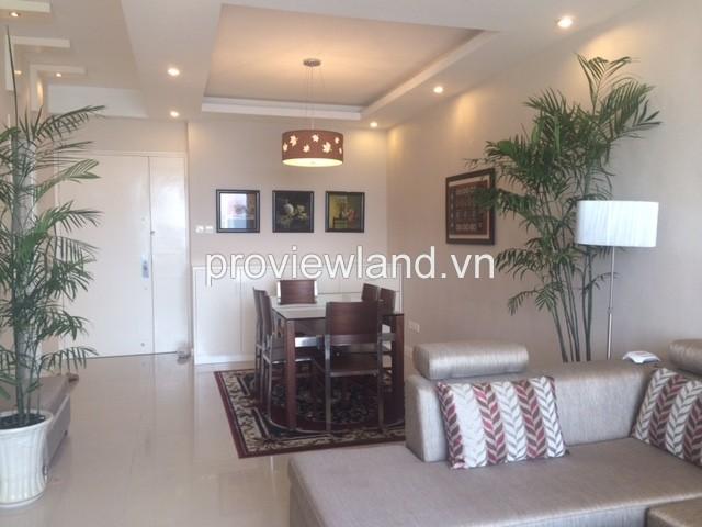Cho thuê căn hộ cao cấp Saigon Pearl 85m2 tòa Ruby 1 với 2PN đầy đủ nội thất view sông đẹp mắt