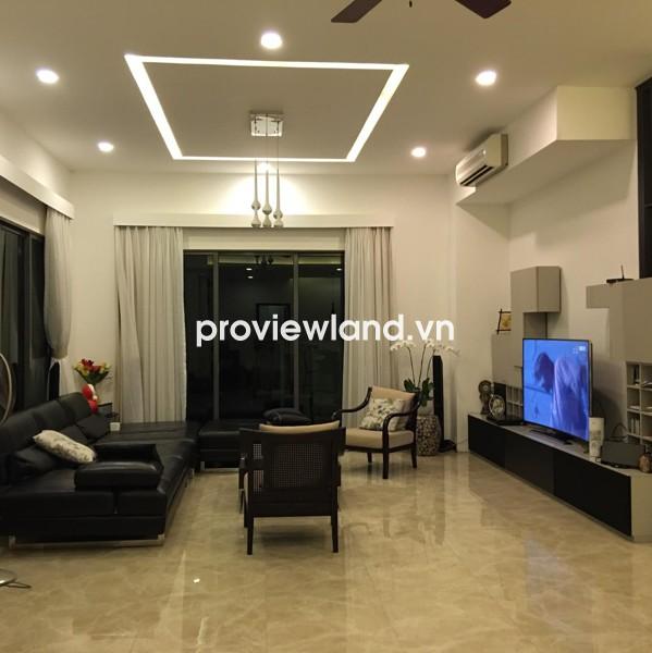 Biệt thự cho thuê khu biệt thự Riviera An Phú 300m2 4PN thiết kế hiện đại nội thất ngoại nhập