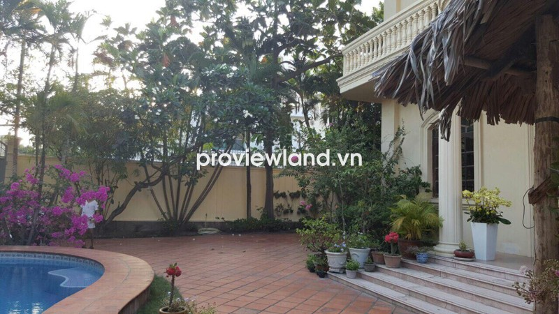 Cho thuê biệt thự Thảo Điền đường Đặng Hữu Phổ có sân vườn hồ bơi DT rộng rãi
