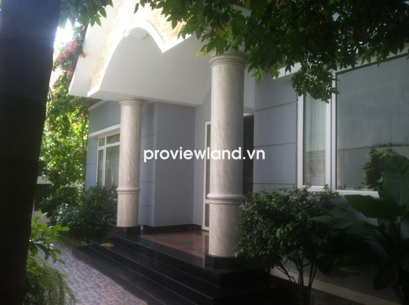 Bán biệt thự quận 2 khu Compound Thiên Tuế 300m2 1 trệt 2 lầu 5PN có sân vườn