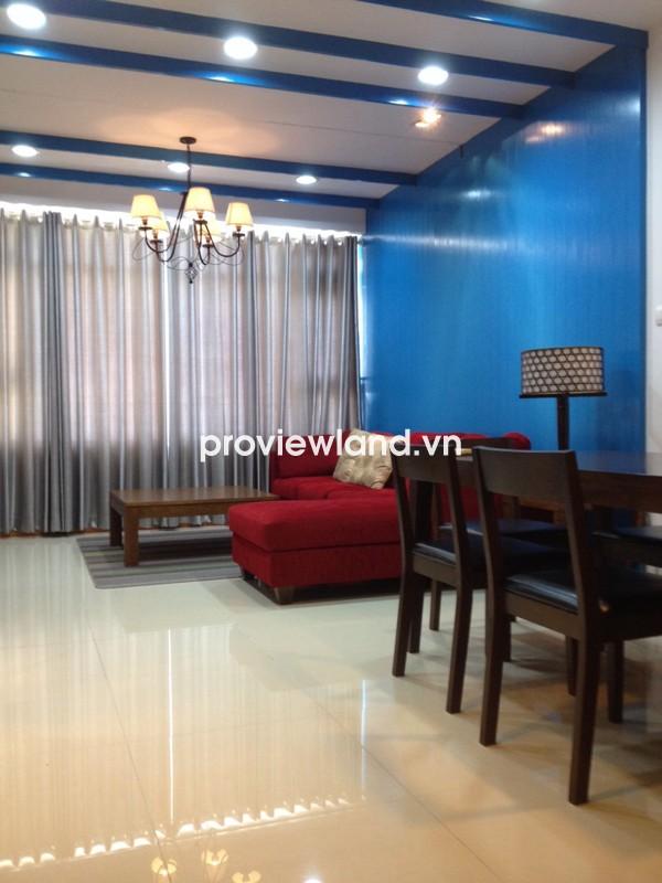 Cho thuê căn hộ Saigon Pearl tòa Sapphire 2 92m2 2PN đầy đủ nội thất tiện nghi
