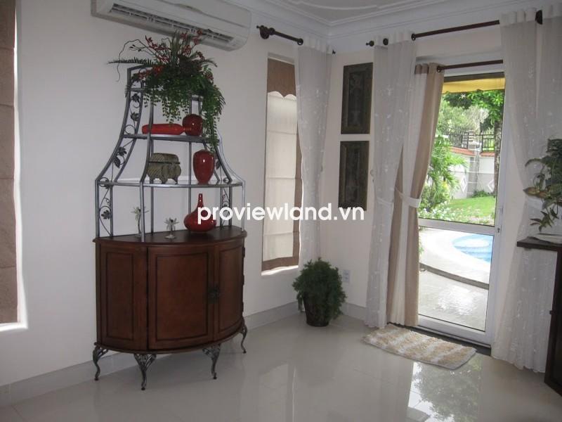 Cho thuê biệt thự khu Kim Sơn Thảo Điền đầy đủ nội thất 5PN có hồ bơi cho thuê giá tốt