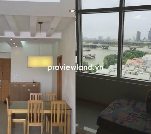 Bán căn hộ cao cấp Saigon Pearl 100m2 tầng thấp 3PN view sông và quận 1 tuyệt đẹp