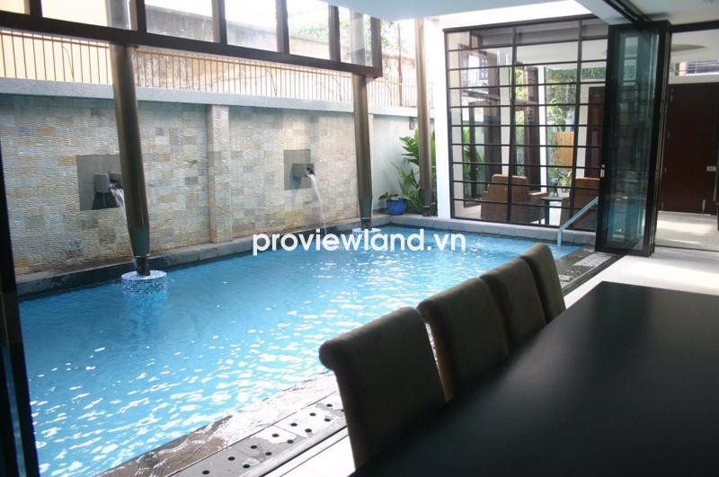 Cho thuê biệt thự quận 2 300m2 thiết kế hiện đại gần căn hộ The Vista An Phú