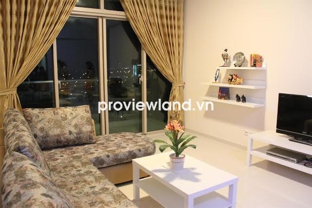 Cho thuê căn hộ The Vista 2PN có ban công view hồ bơi full nội thất cao cấp