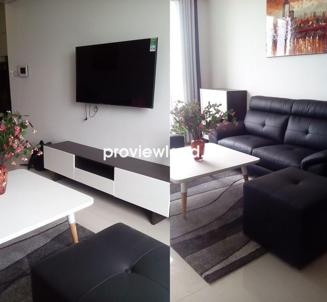 Cho thuê căn hộ ICON 56 92m2 3 phòng ngủ đầy đủ nội thất tiện ích cao cấp