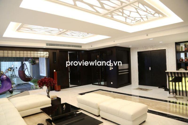 Bán Penthouse Sunrise City 542m2 3 tầng có sân thượng không gian rộng thuận lợi bố trí nội thất