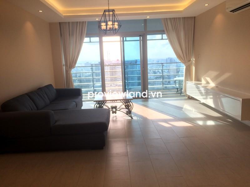 Cho thuê căn hộ Sailing Tower tầng cao 117m2 với 2 PN ban công view cảnh quan