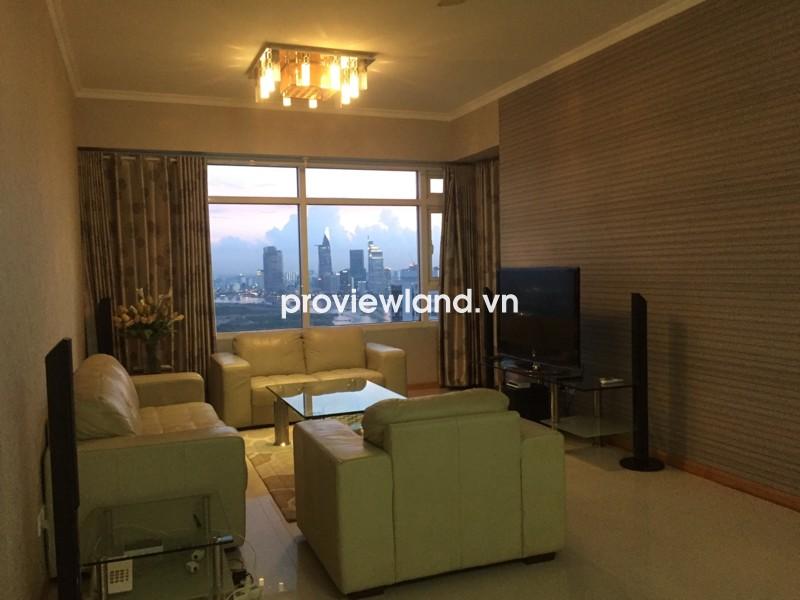 Bán căn hộ Saigon Pearl Topaz 2 DT 136m2 3PN view nhìn thành phố sầm uất
