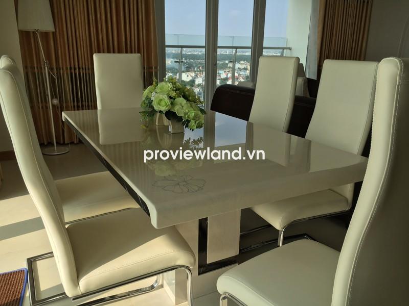 Cho thuê căn hộ Đảo Kim Cương tầng cao 156m2 3PN nhiều tiện nghi cao cấp