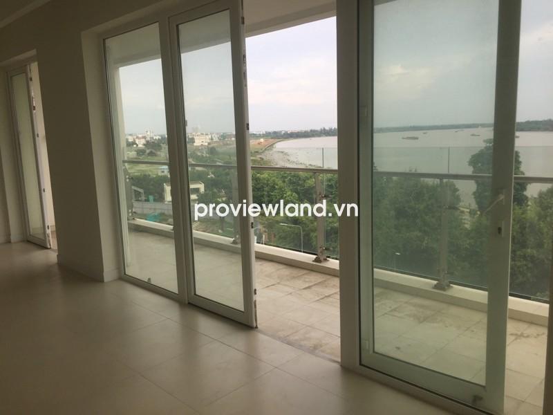 Cho thuê căn hộ Đảo Kim Cương 160m2 3PN tầng cao view sông nhiều tiện nghi