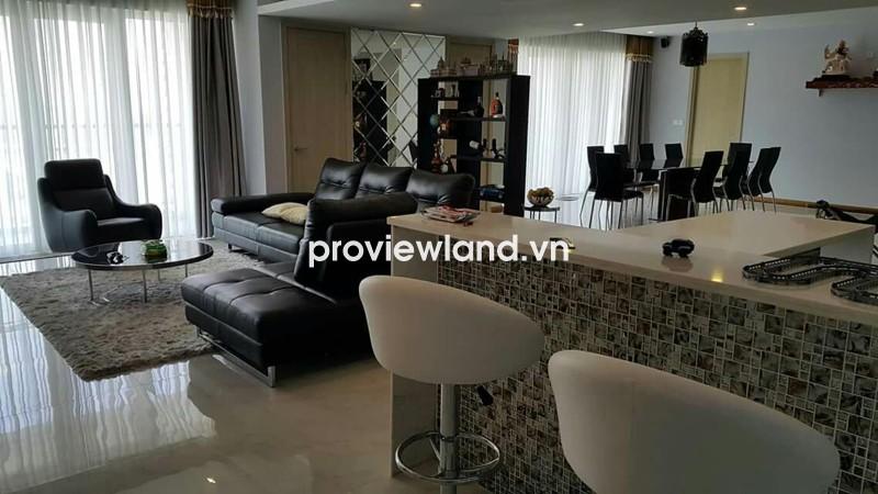 Cho thuê căn hộ Đảo Kim Cương 250m2 3PN đầy đủ nội thất view sông tuyệt đẹp