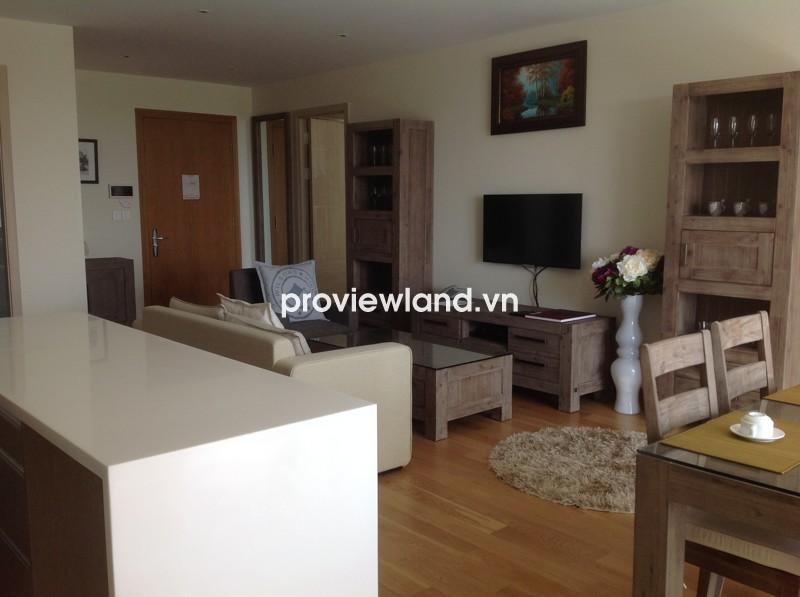 Cho thuê căn hộ Đảo Kim Cương tầng thấp 110m2 2PN đầy đủ nội thất bài trí đẹp mắt