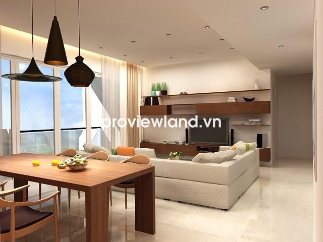 Cho thuê căn hộ Estella 124m2 2PN nội thất cao cấp view nhìn công viên cây xanh
