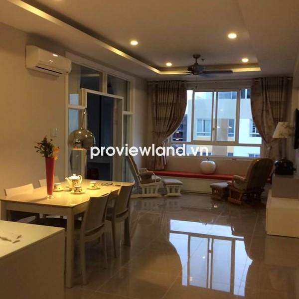 Bán căn hộ Tropic Garden tầng cao 88m2 2PN nội thất đẹp view sông Sài Gòn