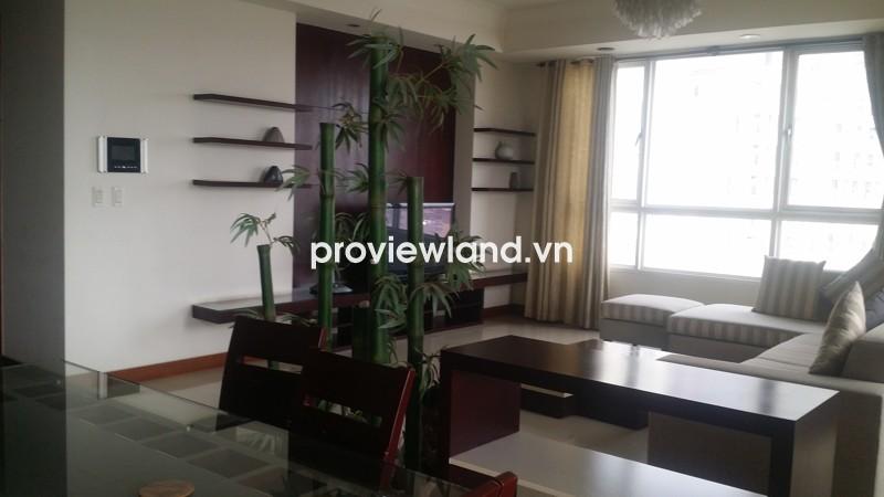 Cho thuê căn hộ The Manor HCMC tầng cao 165m2 3PN ban công view Quận 1
