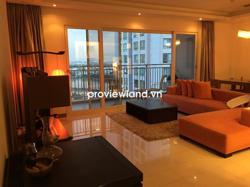 Cho thuê căn hộ XI Riverivew tầng cao view sông 3PN full nội thất bài trí đẹp mắt