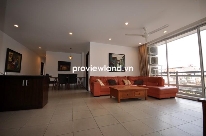 Cho thuê căn hộ Horizon tầng thấp 122m2 3PN nội thất đầy đủ thiết kế hiện đại