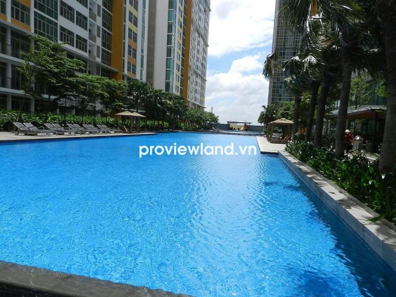 Cho thuê căn hộ The Vista tầng thấp 140m2 3PN nội thất hiện đại tiện nghi đầy đủ